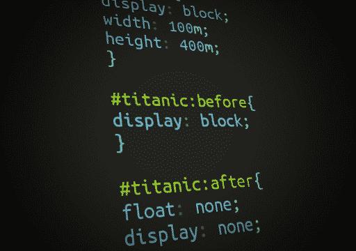 CSS – Iceberg Titanic
