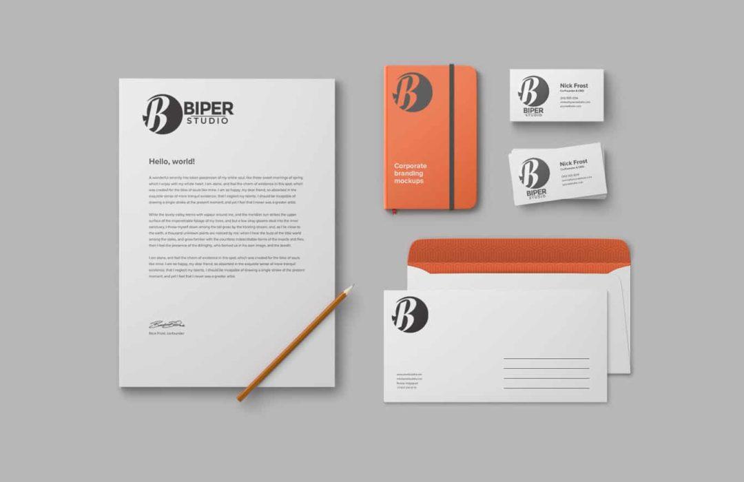 Nouvelle identité Biper studio