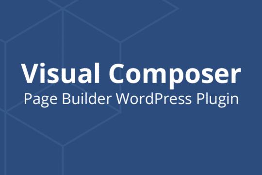 Visual Composer le plugin WordPress de mise en page
