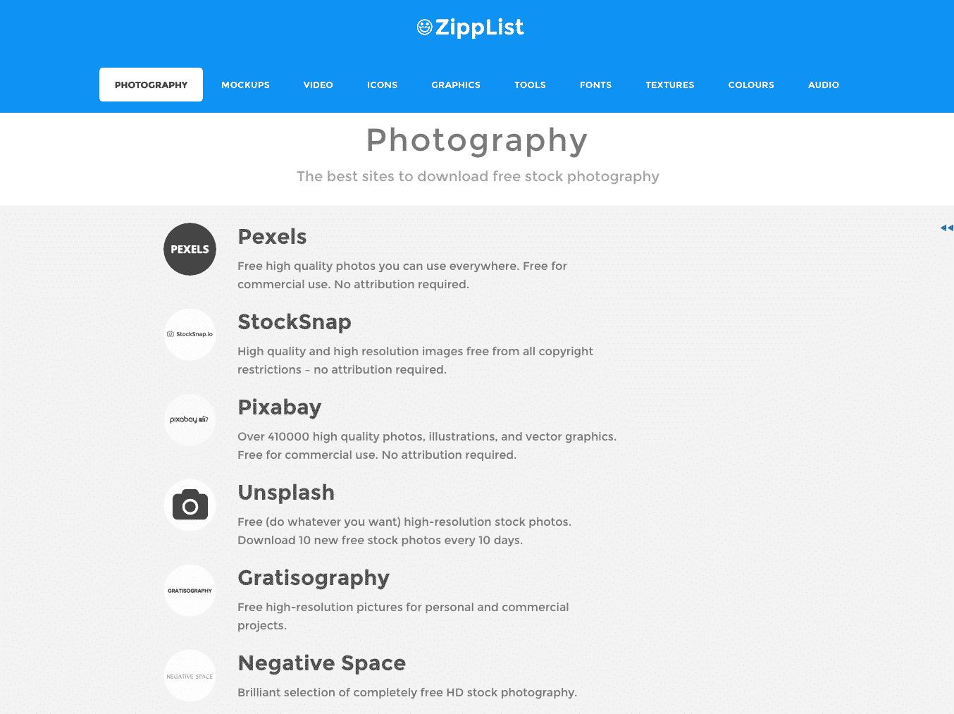 zipplist